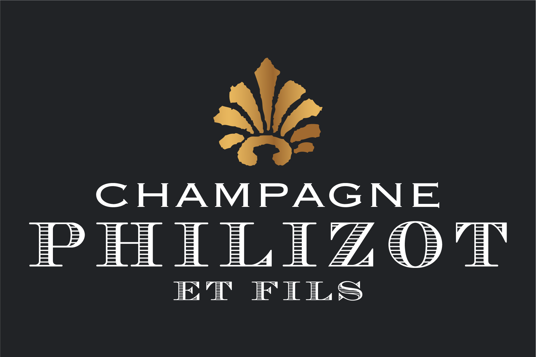 Champagne Philizot et Fils Sticky Logo